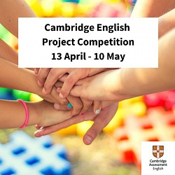 Cambridge English Project Competition!