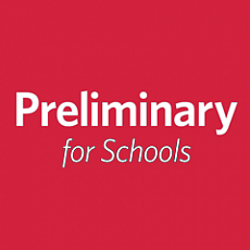 Cambridge English: B1 Preliminary for Schools
